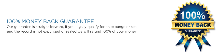 Expunge Center Guarantee